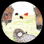 אגדת עם אינדיאנית בתו של הבאפלו מתוך מגזין לילדים אדם צעיר