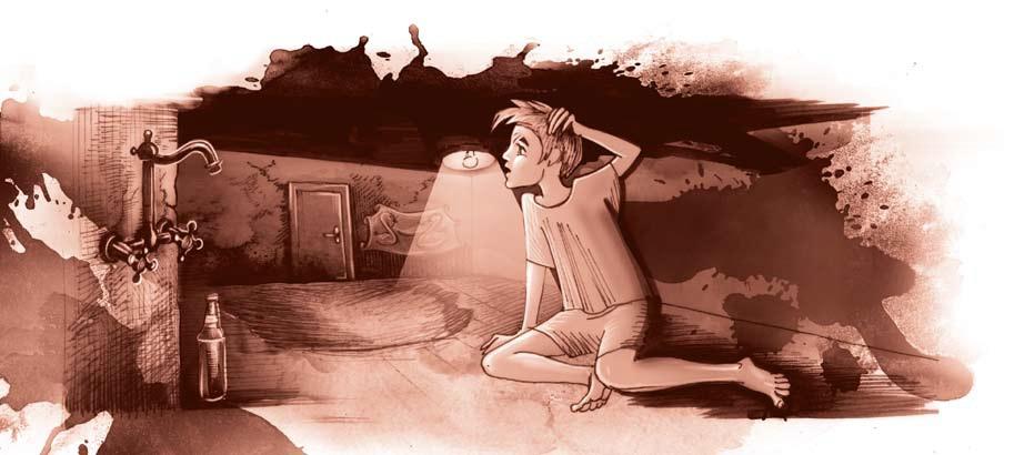 אדם צעיר- גליון המבוך- חדר ראשון
