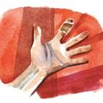 מכת דם מתוך גליון פסח של עיתון לילדים אדם צעיר