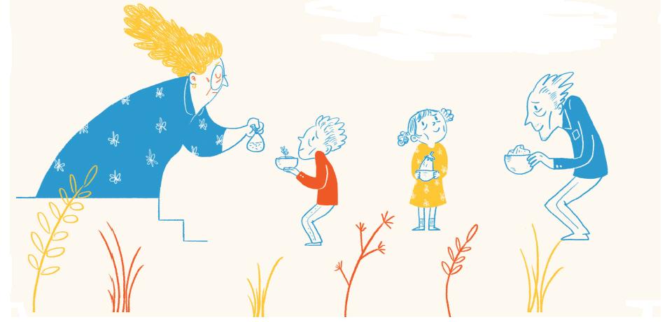 התבלין המופלא- ספור לילדים מתוך עיתון לילדים אדם צעיר, גליון המצאות