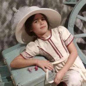 הילדה חדוה פולק
