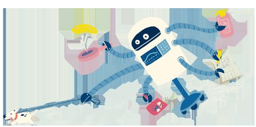 משימת החודש גיליון רובוטים